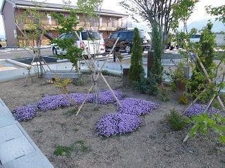 ガーデンコート入口~春~