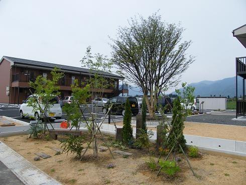 ガーデンコート入口