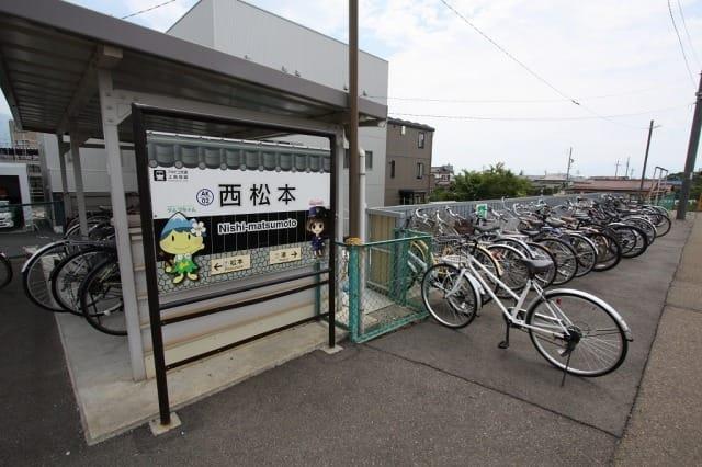 上高地線 西松本駅