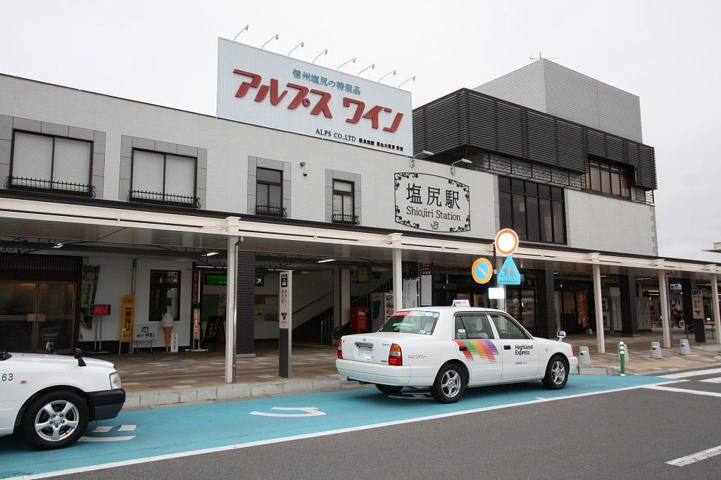 JR塩尻駅