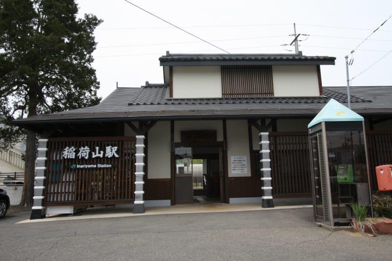 JR稲荷山駅